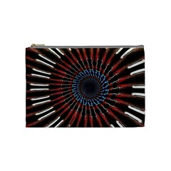 The Fourth Dimension Fractal Noise Cosmetic Bag (medium)