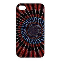 The Fourth Dimension Fractal Noise Apple Iphone 4/4s Hardshell Case