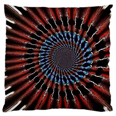The Fourth Dimension Fractal Noise Large Cushion Case (two Sides)