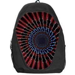 The Fourth Dimension Fractal Noise Backpack Bag