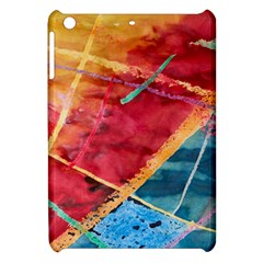Painting Watercolor Wax Stains Red Apple Ipad Mini Hardshell Case