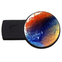 Colorful Pattern Color Course Usb Flash Drive Round (4 Gb)