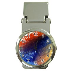 Colorful Pattern Color Course Money Clip Watches