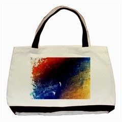Colorful Pattern Color Course Basic Tote Bag (two Sides)