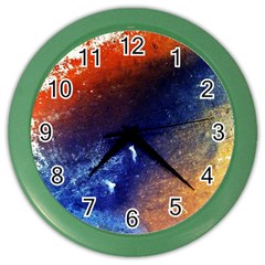 Colorful Pattern Color Course Color Wall Clocks