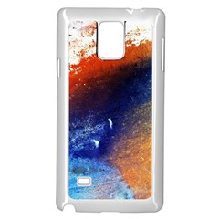 Colorful Pattern Color Course Samsung Galaxy Note 4 Case (white)