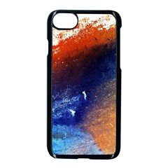 Colorful Pattern Color Course Apple Iphone 7 Seamless Case (black)