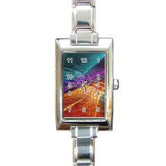 Graphics Imagination The Background Rectangle Italian Charm Watch