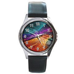 Graphics Imagination The Background Round Metal Watch