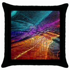 Graphics Imagination The Background Throw Pillow Case (black)