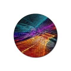 Graphics Imagination The Background Rubber Round Coaster (4 Pack)