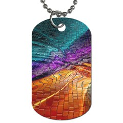Graphics Imagination The Background Dog Tag (one Side)