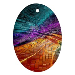 Graphics Imagination The Background Oval Ornament (two Sides)
