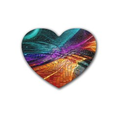 Graphics Imagination The Background Heart Coaster (4 Pack)