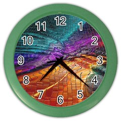 Graphics Imagination The Background Color Wall Clocks