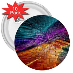 Graphics Imagination The Background 3  Buttons (10 Pack)