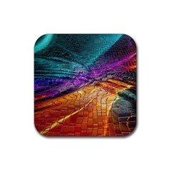 Graphics Imagination The Background Rubber Square Coaster (4 Pack)