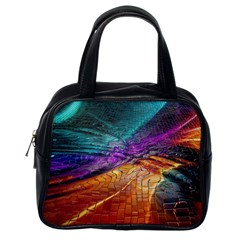 Graphics Imagination The Background Classic Handbags (one Side)