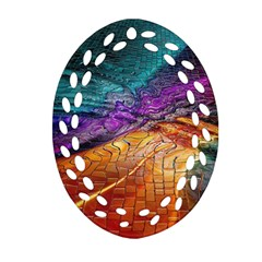 Graphics Imagination The Background Oval Filigree Ornament (two Sides)