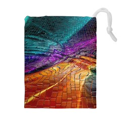 Graphics Imagination The Background Drawstring Pouches (extra Large)