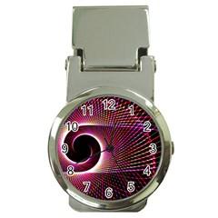 Grid Bent Vibration Ease Bend Money Clip Watches