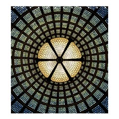Stained Glass Colorful Glass Shower Curtain 66  X 72  (large)