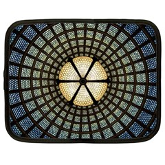 Stained Glass Colorful Glass Netbook Case (xl)