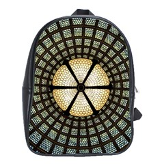 Stained Glass Colorful Glass School Bag (large)