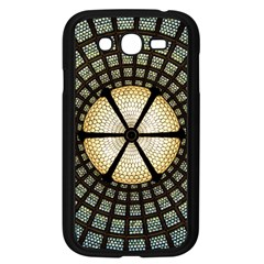 Stained Glass Colorful Glass Samsung Galaxy Grand Duos I9082 Case (black)