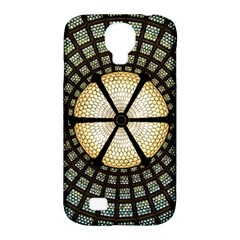 Stained Glass Colorful Glass Samsung Galaxy S4 Classic Hardshell Case (pc+silicone)