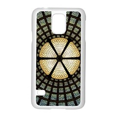 Stained Glass Colorful Glass Samsung Galaxy S5 Case (white)