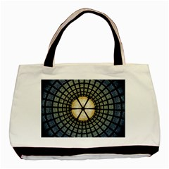 Stained Glass Colorful Glass Basic Tote Bag
