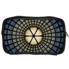 Stained Glass Colorful Glass Toiletries Bags 2 Side