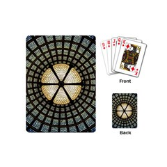 Stained Glass Colorful Glass Playing Cards (mini)