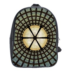 Stained Glass Colorful Glass School Bag (xl)