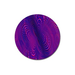 Abstract Fantastic Fractal Gradient Magnet 3  (round)