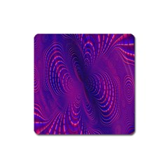 Abstract Fantastic Fractal Gradient Square Magnet