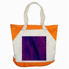 Abstract Fantastic Fractal Gradient Accent Tote Bag
