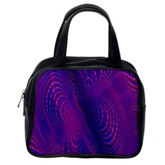 Abstract Fantastic Fractal Gradient Classic Handbags (one Side)