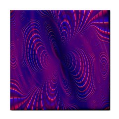 Abstract Fantastic Fractal Gradient Face Towel