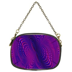 Abstract Fantastic Fractal Gradient Chain Purses (two Sides)