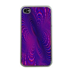 Abstract Fantastic Fractal Gradient Apple Iphone 4 Case (clear)
