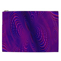 Abstract Fantastic Fractal Gradient Cosmetic Bag (xxl)