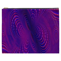 Abstract Fantastic Fractal Gradient Cosmetic Bag (xxxl)