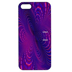 Abstract Fantastic Fractal Gradient Apple Iphone 5 Hardshell Case With Stand