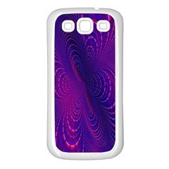 Abstract Fantastic Fractal Gradient Samsung Galaxy S3 Back Case (white)