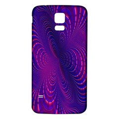 Abstract Fantastic Fractal Gradient Samsung Galaxy S5 Back Case (white)