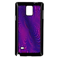 Abstract Fantastic Fractal Gradient Samsung Galaxy Note 4 Case (black)