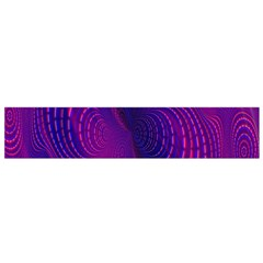 Abstract Fantastic Fractal Gradient Small Flano Scarf