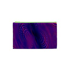 Abstract Fantastic Fractal Gradient Cosmetic Bag (xs)